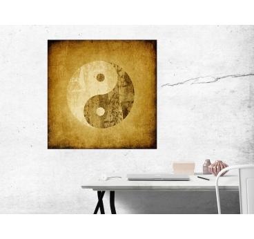 Tableau Deco Ying Yang