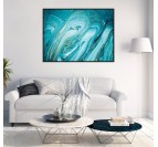 Marble Wave Trendy Canvas