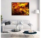 Abstract Solar Canvas