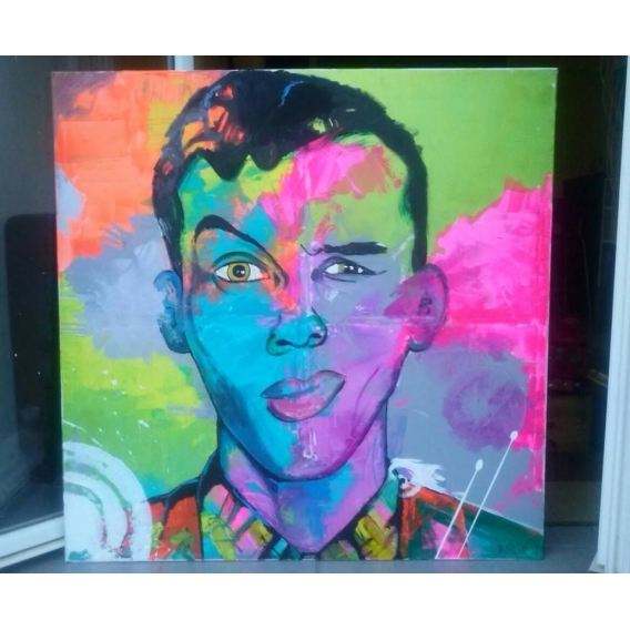 Stromae Canvas