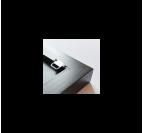Tableau abstrait ondulation 2