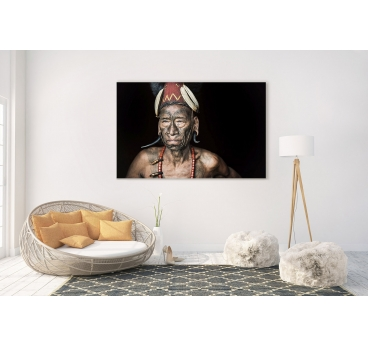 Photo d'Art Africaine Tribu