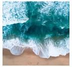Photo d'Art Ocean Bleu