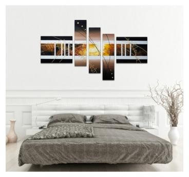 Peinture sur Toile Automne dans un style Abstrait pour un intérieur moderne