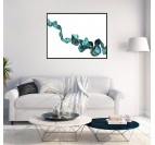 Ripple 3 Abstract Wall canvas