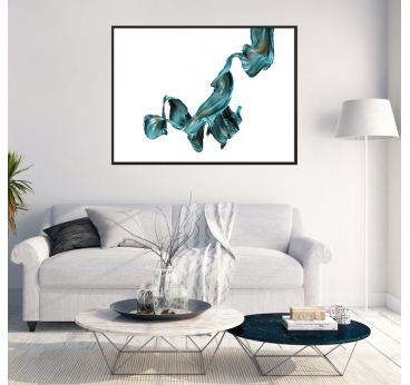 Ripple 2 abstract modern decoration