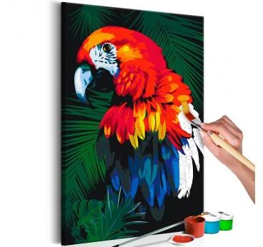 Peinture par Numéro Perroquet Design