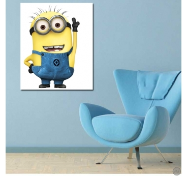 Design canvas print for wall decoration of the Minion Jerry