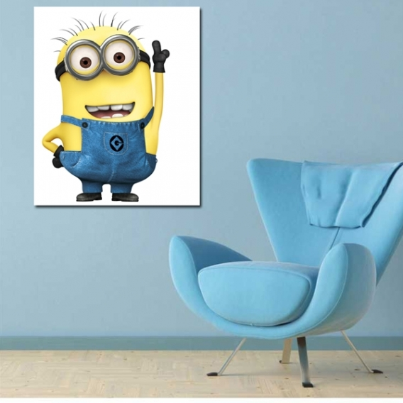 Minion Jerry Art Print for Kids