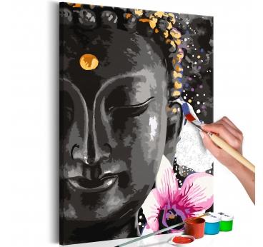 Peinture par Numéro Buddha Flowers