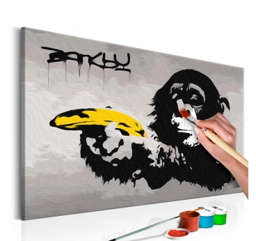 Peinture par Numéro Street Art Banksy
