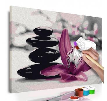 Peinture par Numéro Galet Zen