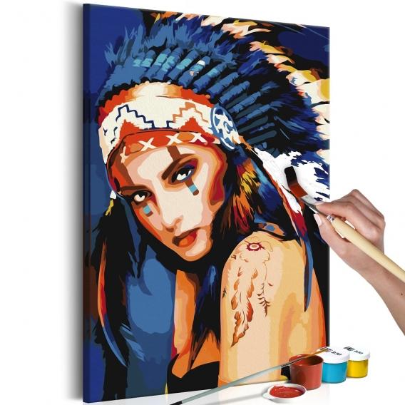 Peinture par Numéro Indienne