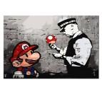 Peinture par Numéro Banksy Mario