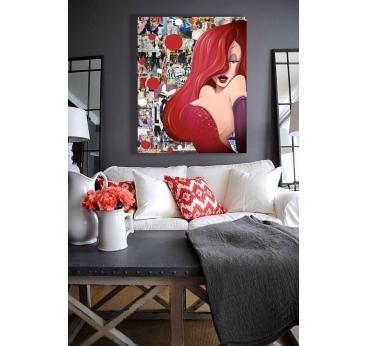 Jessica Rabbit Design Frame