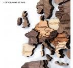 Décoration Bois Monde 3D