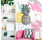 Pineapple wall metal decoration