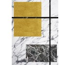 Multi Marble Design Canvas