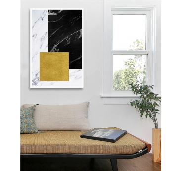 Square Marble Canvas