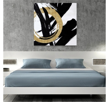 Peinture Design Gold Calligraphie