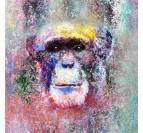 Peinture Chimpanzé Design
