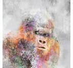 Peinture Gorille Pop Art