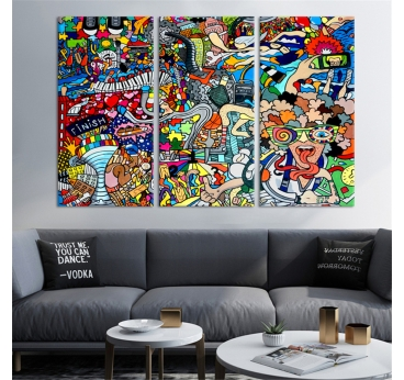 BD Pop Art Canvas