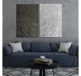 Contemporary Spiral Painting