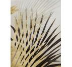 Tableau Peinture Palmier Or