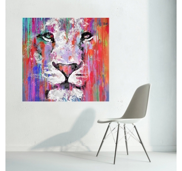 Lion V Painting Collection