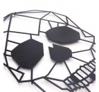 Décoration design Métal Skull en présentation