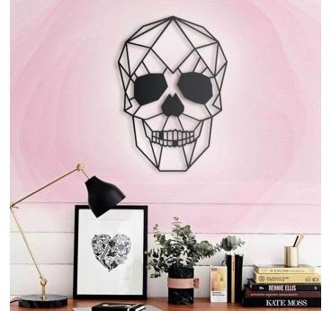 Décoration Murale Métal Skull pour un intérieur rock