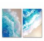 Modern Ocean Painting