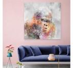 Pop Art Gorilla Painting