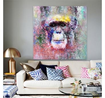 Chimpanzee Design Painting
