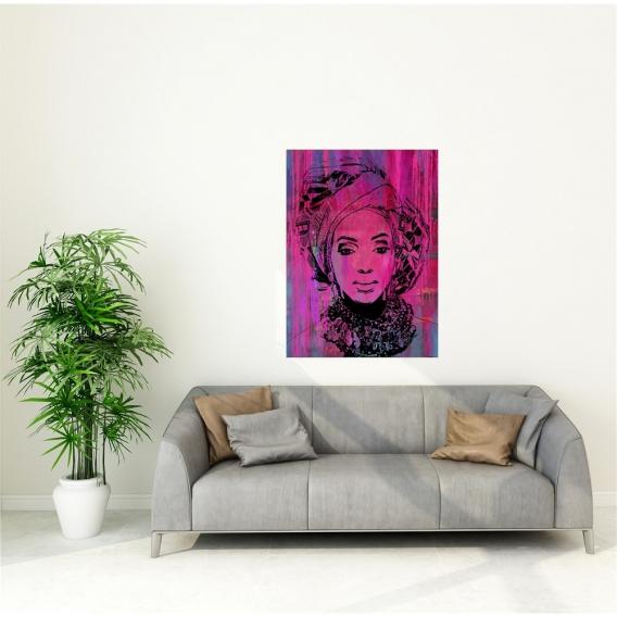 Peinture African Pop