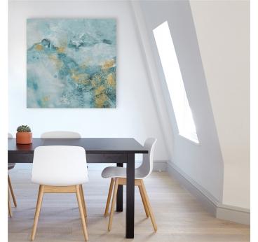 Toile Peinture Bleuteis
