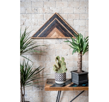 Triangle Wood Decoration