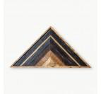Triangle Wood Decoration