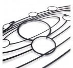 Qualité du métal de nos décorations murales design