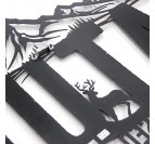 Décoration murale métallique nature