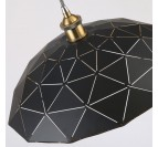 Black Origami Pendant Light