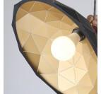 Luminaire Suspendu Origami Noir