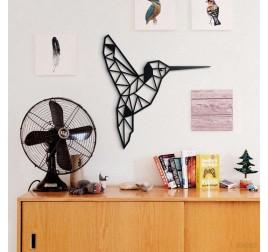 Humming Bird Metal Decoration