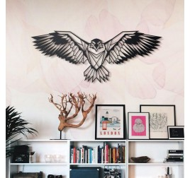 Décoration murale Métallique Aigle
