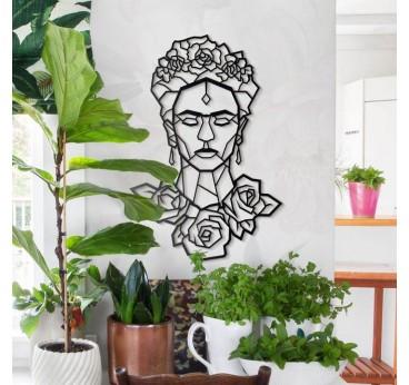 Déco Métal Design Frida Kahlo