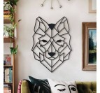 Wolf Metal Wall Decoration