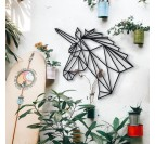 Unicorn Metal Wall Decoration