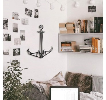 Anchor metal wall design decoration