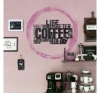Coffee Metal Wall Decoration